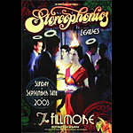 The Stereophonics New Fillmore Poster F585