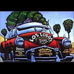 Los Lobos New Fillmore F602 Poster