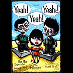 Yeah! Yeah! Yeahs! New Fillmore Poster F612