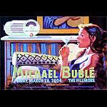 Michael Bubblé  New Fillmore Poster F613