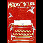Modest Mouse New Fillmore F614 Poster - signed