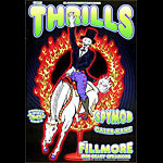 Thrills New Fillmore Poster F615