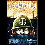 Sleater-Kinney New Fillmore Poster F621