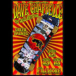 Dave Chappelle New Fillmore Poster F623
