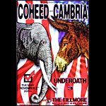 Coheed and Cambria New Fillmore F639A Poster