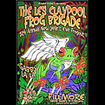 The Les Claypool Frog Brigade New Fillmore Poster F676