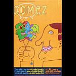 Gomez New Fillmore Poster F677