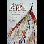 David Byrne New Fillmore Poster F680