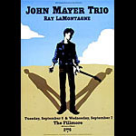 John Mayer Trio New Fillmore Poster F713