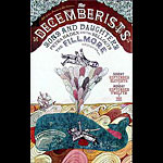 The Decemberists New Fillmore Poster F716
