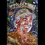 Jimmy Buffett and the Coral Reefer Band New Fillmore Poster F734