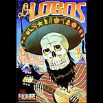 Los Lobos New Fillmore F744 Poster
