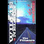 Willie Nelson 2006 Fillmore F750 Poster