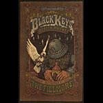 The Black Keys New Fillmore Poster F804