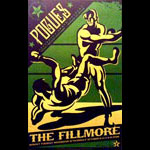 Pogues New Fillmore Poster F812