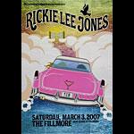 Rickie Lee Jones New Fillmore F846 Poster