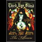 Third Eye Blind New Fillmore F847 Poster