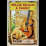 Willie Nelson and Family New Fillmore Poster F858