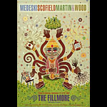 Modeski Scofield Martin And Wood New Fillmore Poster F891