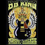 B.B. King New Fillmore Poster F898