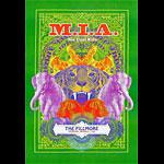 M.I.A. New Fillmore Poster F905