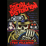 Social Distortion New Fillmore Poster F914