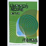 Umphrey's McGee New Fillmore Poster F917