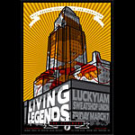 Living Legends New Fillmore Poster F921