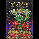Y&T New Fillmore Poster F928
