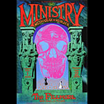 Ministry New Fillmore Poster F929