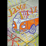 Jason Mraz New Fillmore Poster F930