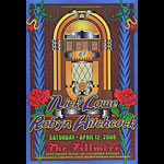 Nick Lowe New Fillmore Poster F937