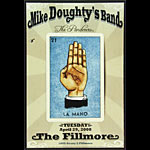 Mike Doughty New Fillmore Poster F942