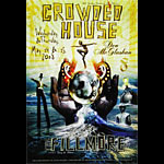Crowded House New Fillmore F946 Poster