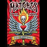 The Matches New Fillmore Poster F951