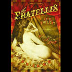 The Fratellis New Fillmore Poster F952