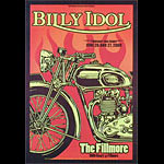 Billy Idol New Fillmore Poster F954