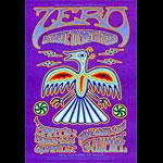 Zero New Fillmore F962 Poster
