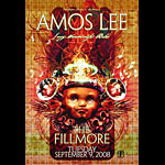 Amos Lee New Fillmore F969 Poster