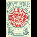 Gov't Mule New Fillmore Poster F979