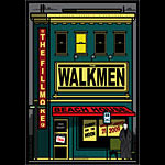 The Walkmen 2009 Fillmore F986 Poster