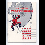 1956 San Francisco 49ers  Media Guide