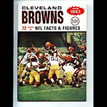 1963 Cleveland Browns Media Guide