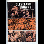 1966 Cleveland Browns Media Guide