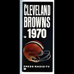 1970 Cleveland Browns Media Guide