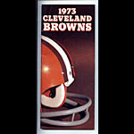 1973 Cleveland Browns Media Guide