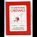 1960 St. Louis Cardinals Media Guide