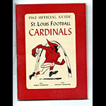 1962 St. Louis Cardinals Media Guide