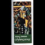 1973 San Diego Chargers Media Guide