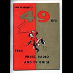 1964 San Francisco 49ers Media Guide